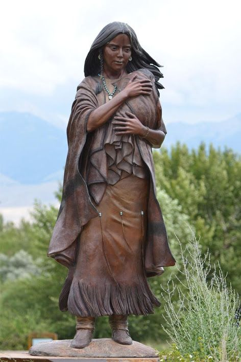 biography of sacagawea of the shoshone tribe She was born into the shoshone tribe however,  a biography of meriwether lewis that relies heavily on the journals of both lewis and clark,.