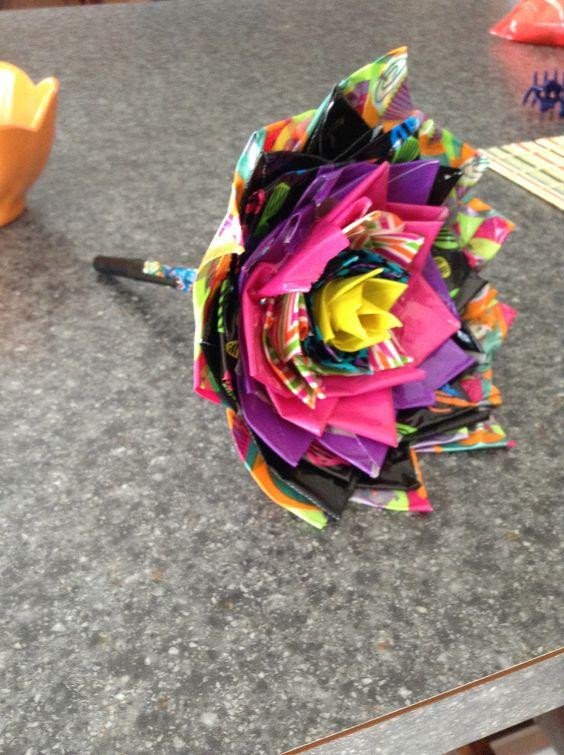 Tape flower pen duck tape pinterest duck tape ducks and pens