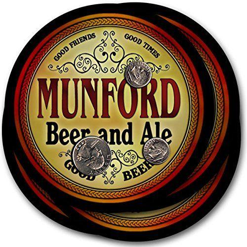 Munford Beer & Ale - 4 pack Drink Coasters ZuWEE…