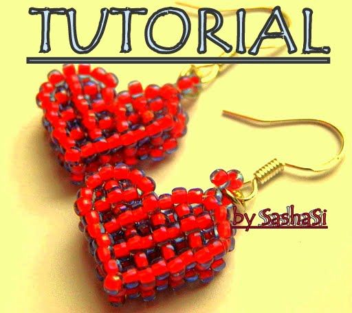 easy beaded earring tutorials | art, crafts and beads