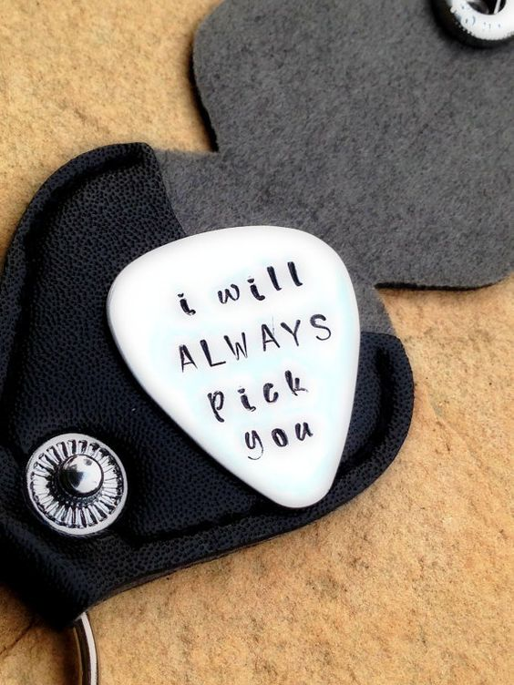 Personalized Pick with your message Custom Pick by natashaaloha