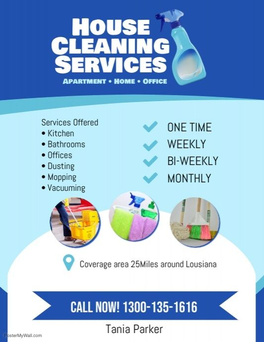Create The Perfect Design By Customizing Easy To Use Templates In Minutes Easily Convert Your I Cleaning Service Flyer Cleaning Flyers House Cleaning Services