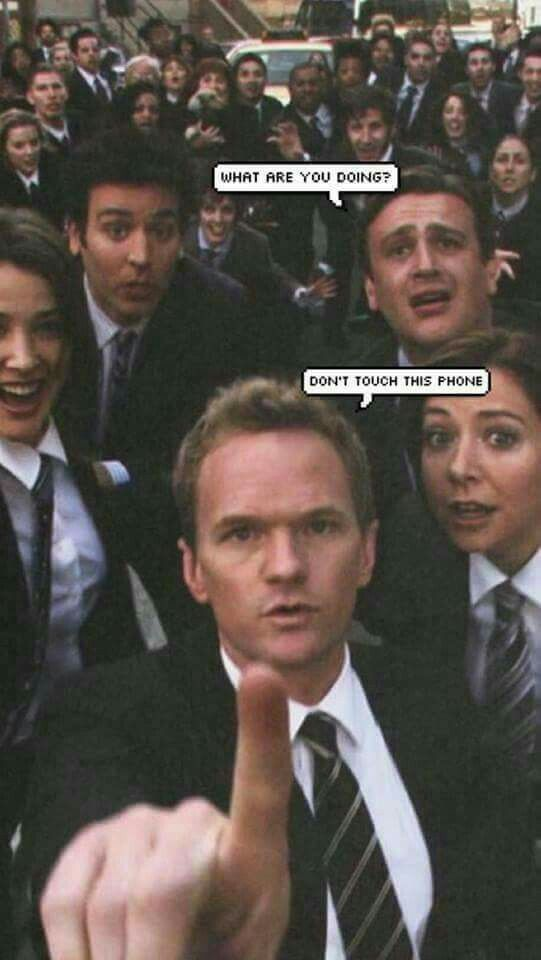 Pin By Kacysing On Film Funny Phone Wallpaper How I Met Your