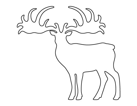 elk  stencils and templates on pinterest