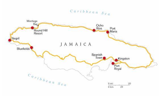 Jamaica Pirate Road Trip