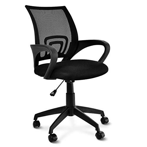 Global Supplies Gs 8010 Executive Office Chair Swivel Rolling Task Computer Desk Chair With Adjustable Armrests Back Lumba Office Chair Mesh Office Chair Chair