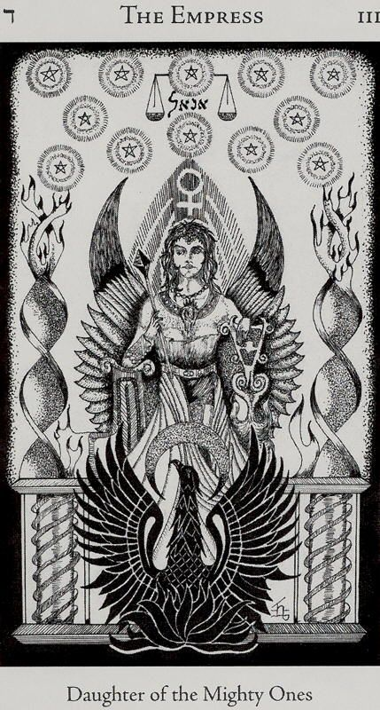 Image result for the empress tarot hermetic