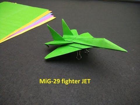 Cara membuat origami pesawat F15 jet Eagle Fighter (Original ... | 360x480