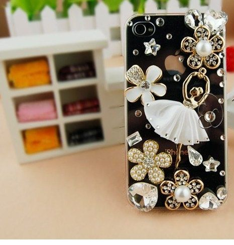 Bling iPhone 4 case iPhone 4s case Hard iPhone 4/4s by alec8211, $26.99