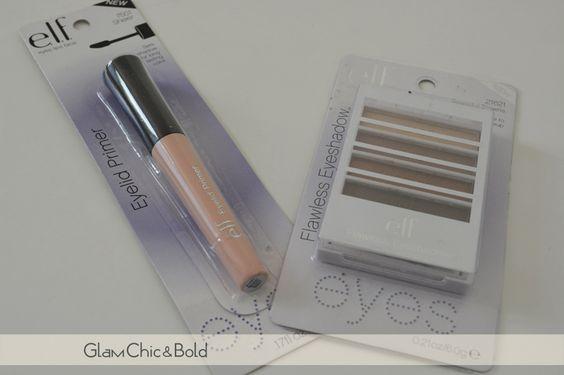 Review primer Elf e palette Flawless Eyeshadow Beautiful Brown