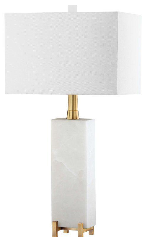 Farrington Gurney 30 Table Lamp Reviews Allmodern Rectangular Lamp Shades Lamp Square Table Lamp