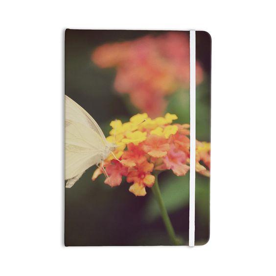 "Robin Dickinson ""Captivating"" Orange Flower Everything Notebook"