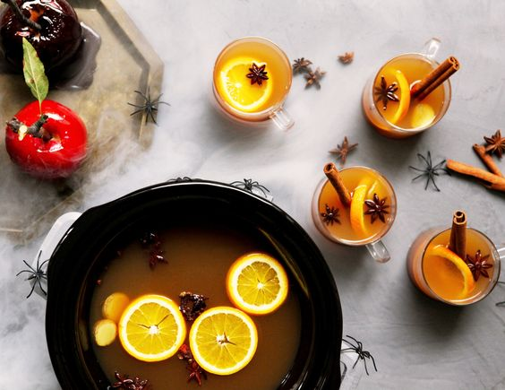 Recipe: Slow-Cooker Spiked Mulled Cider — BOO-zy Halloween