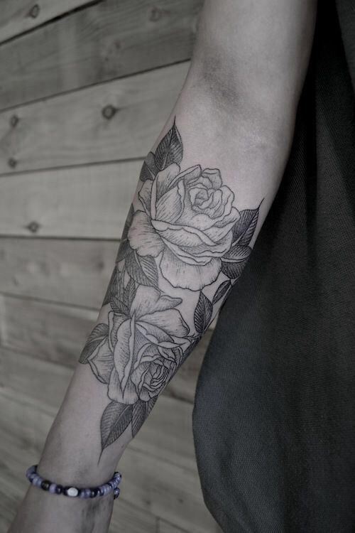 something like this on my shoulder