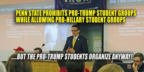 This news is as disgraceful as it gets. According to student Chris Baker, Penn…