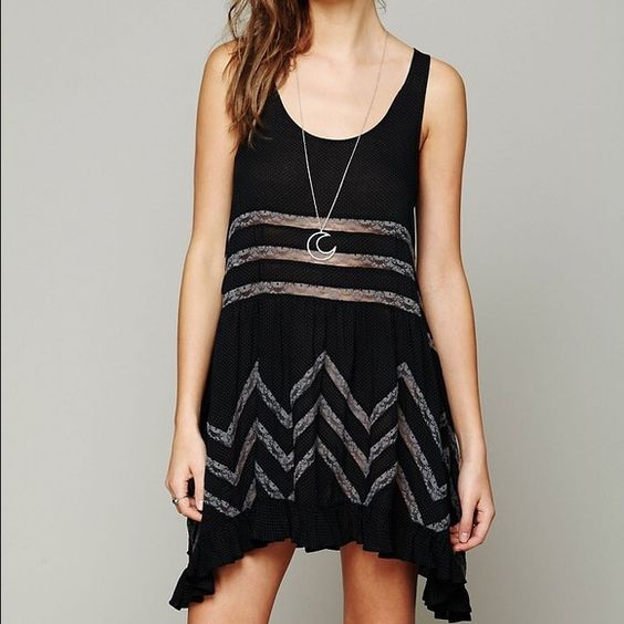Free People Slip Dress Worn once! Perfect condition, no stains, holes, etc. Free People Dresses Mini