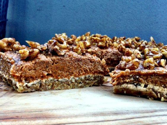Sweet potato pie with candied walnuts | Path to Wellness