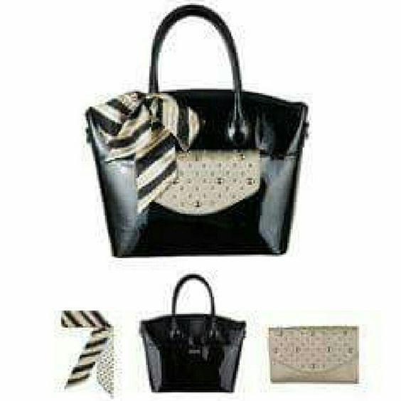 Grace Adele Roxie black patent bag Roxie black patent bag Grace Adele  Bags Shoulder Bags