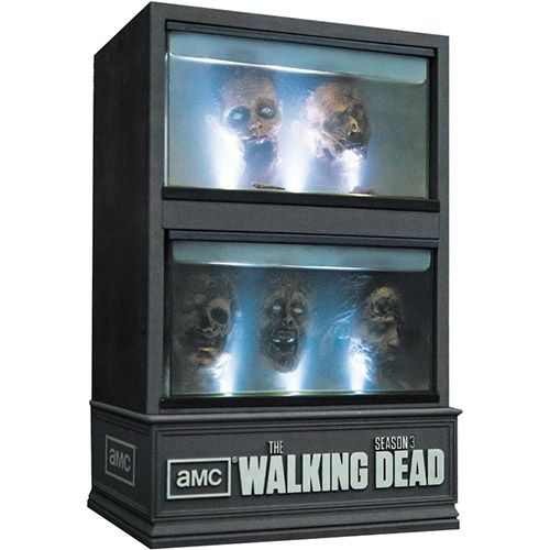 Blu-Ray - The Walking Dead Season 3 Limited Edition - Importado (5 Discos)