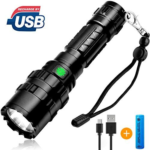UK Waterproof Tactical Pocket Sized Flashlight Military LED Torch Lamps