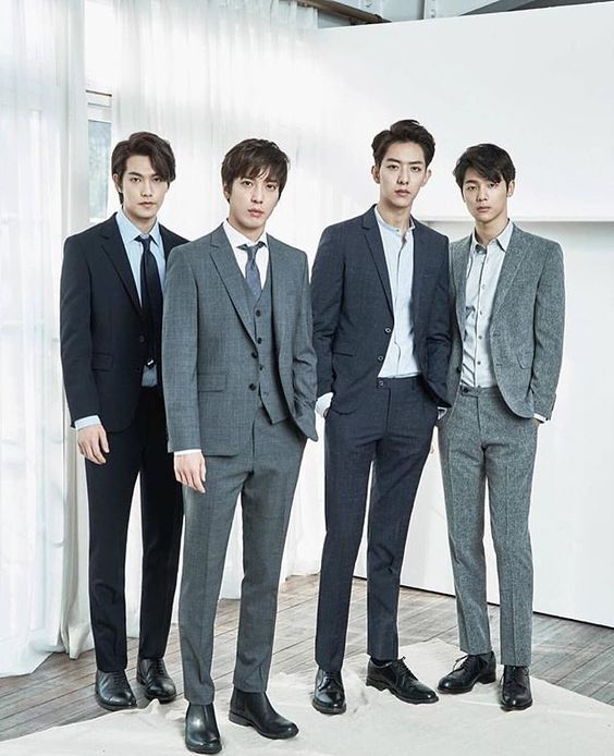 Looking sharp CNBLUE @ The Class Photoshoot