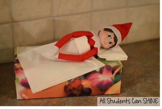 MORE Elf In The Classroom Ideas!