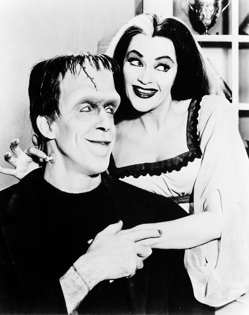 """""""The Munsters"""". One of my favorite shows. I coveted Grandpa's lab. :) It ran from September, 1964 to May, 1966."""