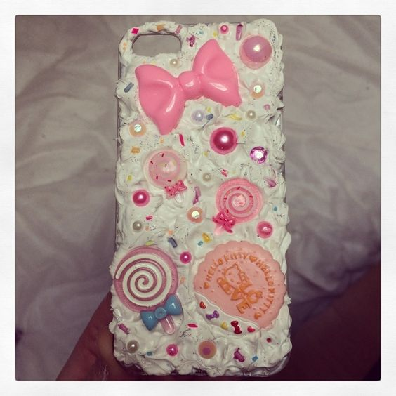 Girly pink iPhone case £7.00