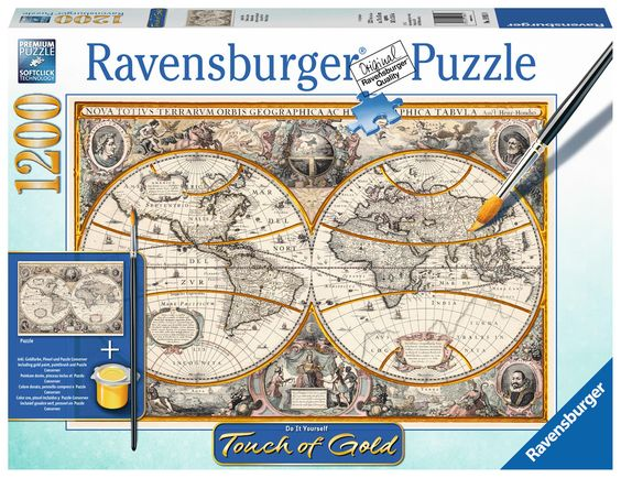 Ravensburger Puzzle - Antike Welt - 1200 Teile