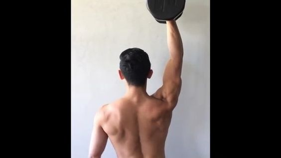 Fix Your Overhead Position by CONTROLLING it! [mobility advice] . TAG someone who would benefit from better overhead mobility . Have you tried stretching your lats in every way possible? Are you self-mobilizing your shoulders incessantly with monsterbands