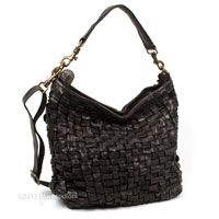 Woven Leather Hobo with Short/Long Shoulder Straps, BELZONI by Campomaggi | Marcopoloni..love love love!!