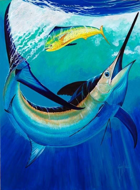 Guy harvey sailfish cooler for Cool life paint cost