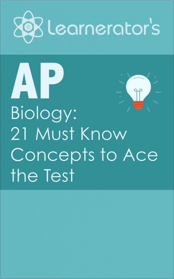 ap biology crash course study guide