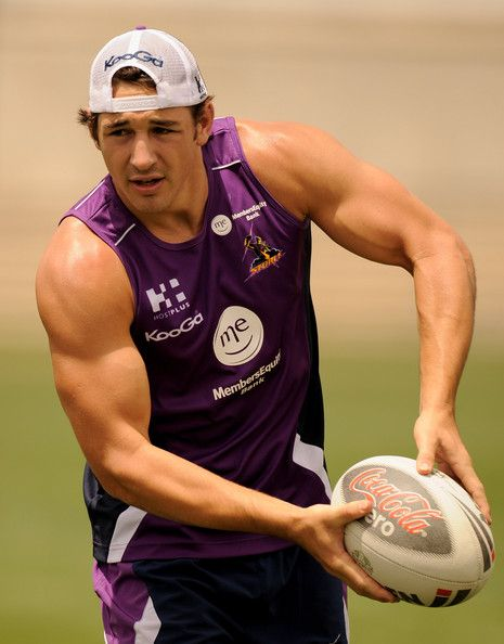 """Billy Slater is an Australian rugby league player, currently playing as a fullback for the Melbourne Storms. Nicknamed """"Billy the Kid,"""" Slat..."""
