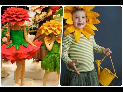 Disfraz Flor Diadema Con Petalos Youtube Flores Para Niños Disfraces Navidad Niños Disfraces