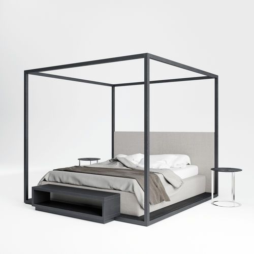 bed with dosel - Buscar con Google