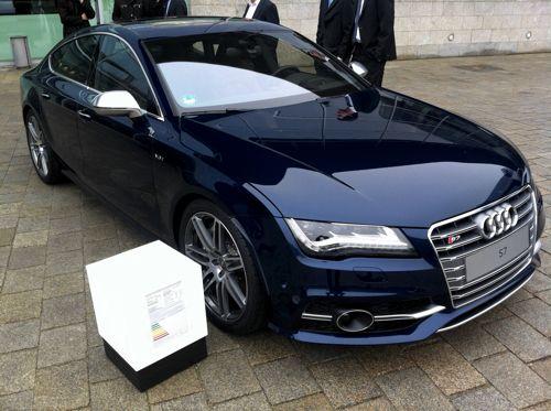 Estoril blue Audi S7 = speachless