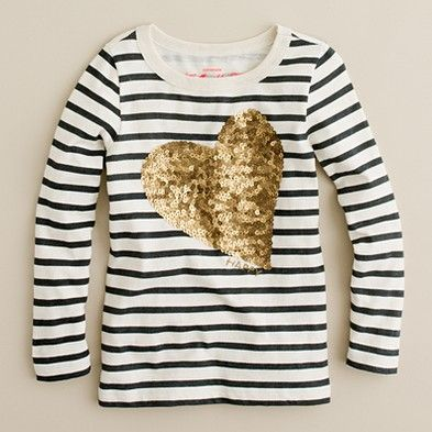 glitter + heart + stripes = cuteness n glam!