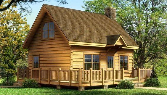 Inspirado en un chalet de montaña, este es un concepto de casa de madera sencillo pero eficiente, que cuenta con gran salón y un amplio espacio de cocina. La zona de loft abierto puede ser cualquier cosa, desde una sala de juegos, una oficina o espacio adicional para otro dormitorio. Tiene 80 M2. + Deck.