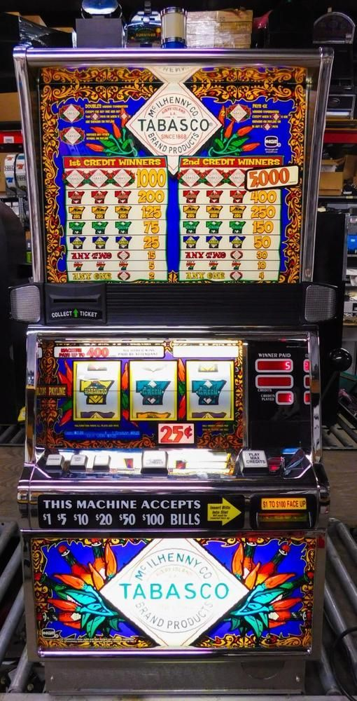 Tabasco slot machine online game