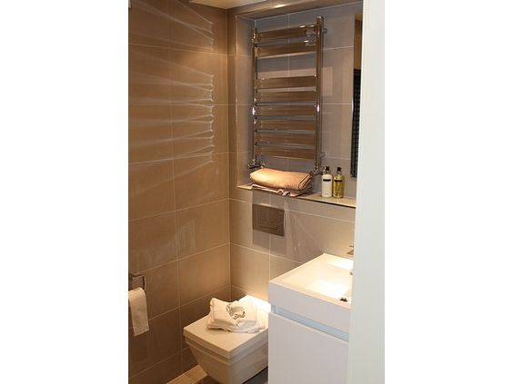 Contemporary Cloakroom Powder Room Trend Cement