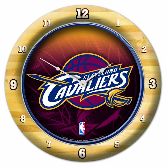 NBA Cleveland Cavaliers Game Clock- Ty