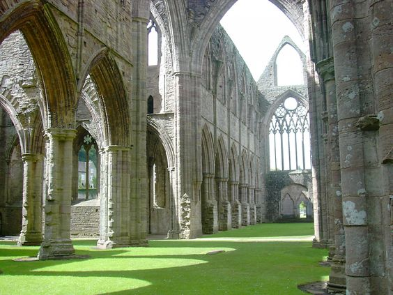 Tintern Abbey. the most magical place I've ever been.