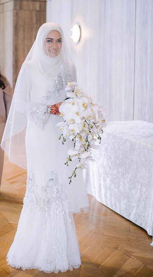 Outfit Undangan Hijab Simple Outfit Undangan In 2020 Nikah Dress Muslimah Wedding Dress Muslim Wedding Dresses