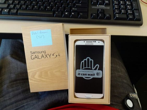 A gift from my summer employer :-)  ... Samsung #GalaxyS4