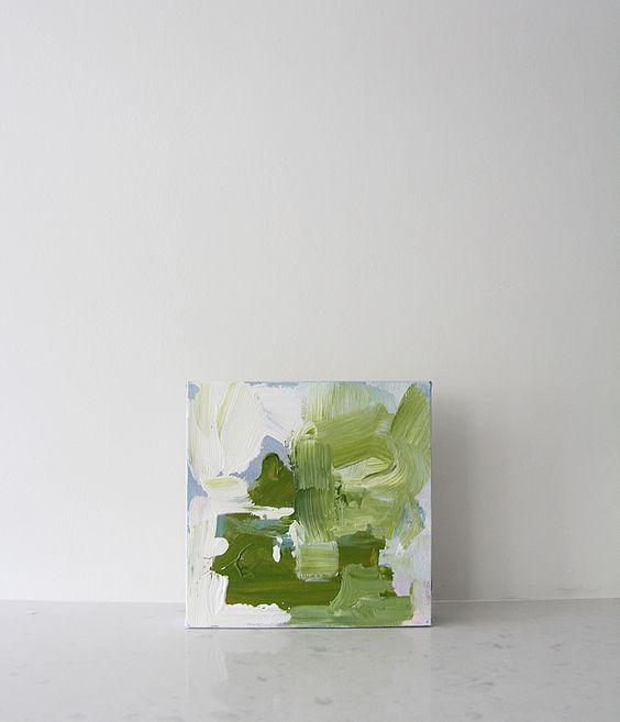 Aubrey + Lindsay's Blog: little paintings