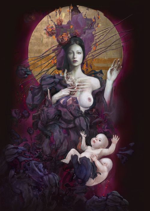 Leda with twins by Andrei Riabovitchev