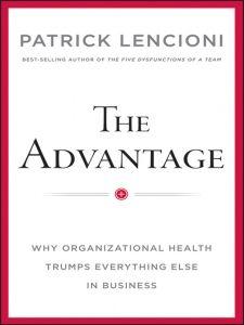 Great new book by Patrick Lencioni