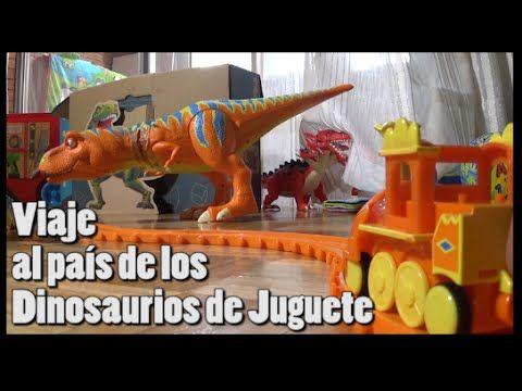 Viaje al país de los Dinosaurios de juguete