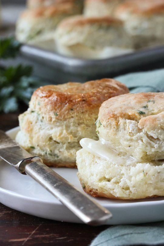Herbed Yogurt Biscuits. You're Welcome. @TheKitchn #TastyTuesday http://bit.ly/1gxttxC